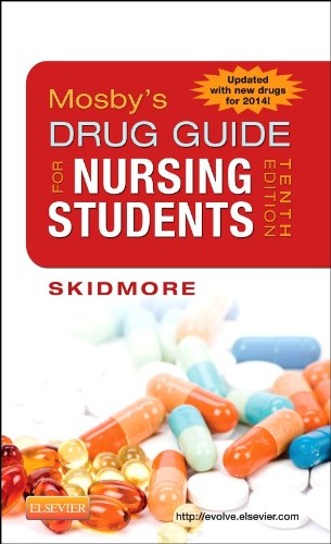 Mosby's Drug Guide for Nursing Students, 10th Edition