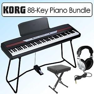 korg sp250 portable 88 key digital piano bestbuytv 39 s diary. Black Bedroom Furniture Sets. Home Design Ideas