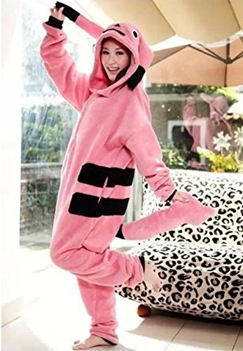 Adults Costume Ladies Pink Pikachu