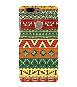 Indian Ethenic Tribal 3D Hard Polycarbonate Designer Back Case Cover for Huawei Honor 8
