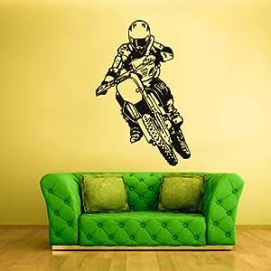 Wall vinyl sticker decals decor art bedroom for 70 bike decoration