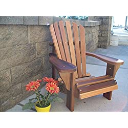 Wood Country T&L Childs Adirondack Chair, Cedar Stain