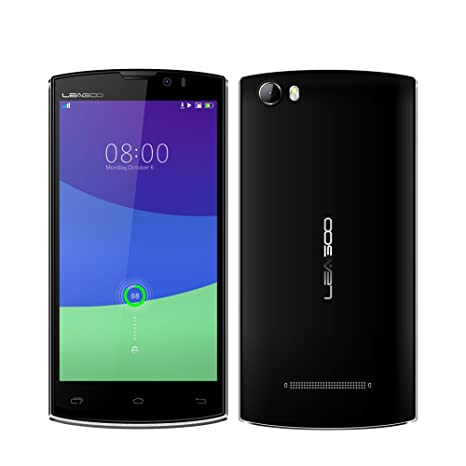 LEAGOO Lead7 5-inch MTK6582 1.3Ghz Quad-core 1GB RAM 8GB ROM 3G Smartphone (Noir)