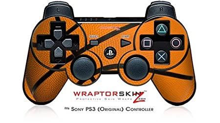 Sony PS3 Controller Skin - Basketball