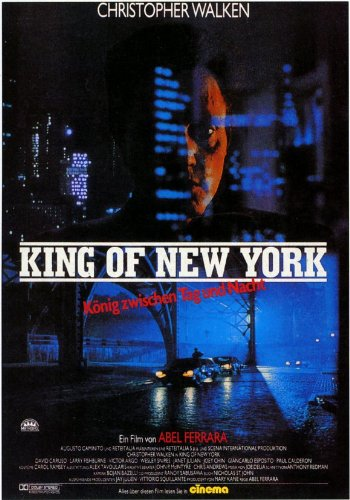 King of New York - Movie Poster - 11 x 17