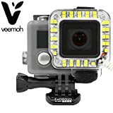 Veemoh 22 LED Light GoPro Accessories Lights Video Camera Best For Go Pro Hero 4 / 3+ Lighting