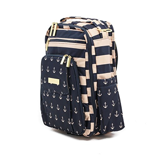 ju ju be legacy the commodore nautical collection be right back backpack diaper bag all travel bag. Black Bedroom Furniture Sets. Home Design Ideas