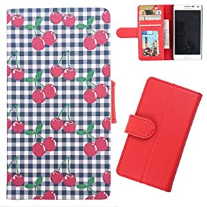 DooDa - For Karbonn Smart A111 PU Leather Designer Fashionable Fancy Wallet Flip Case Cover Pouch With Card, ID & Cash Slots And Smooth Inner Velvet With Strong Magnetic Lock