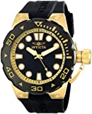 """Invicta Men's 16135SYB """"Pro Diver"""" 18k Gold-Plated Watch"""