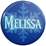 Henry the Buttonsmith Melissa Winter Ice Name Tag by Henry the Buttonsmith