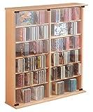 ONUX-CDDVD-Mbel-Schrank-Regal-Archivierungssystem-Sideboard-Turm-Ablage-Buche