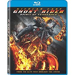 Ghost Rider: Spirit of Vengeance (+ UltraViolet Digital Copy) [Blu-ray]