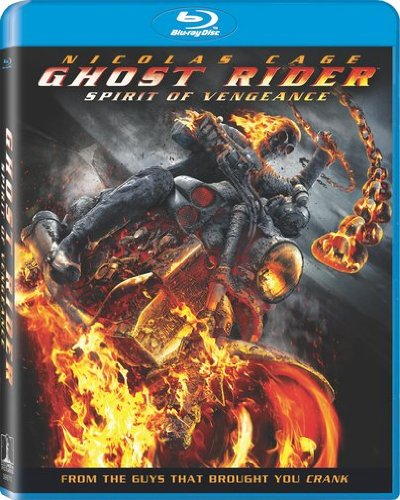 Cover art for  Ghost Rider: Spirit of Vengeance (+ UltraViolet Digital Copy) [Blu-ray]