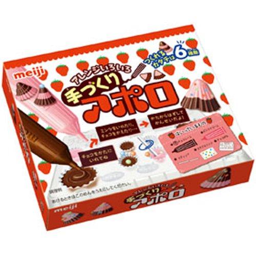 Cookin' Make Apollo Strawberry Chocolate Candy meiji hp