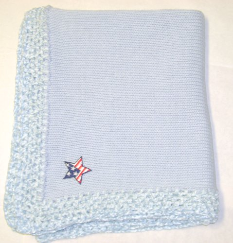 Hand Knitted Baby Blanket back-335459