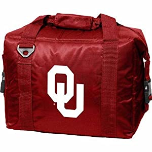 NCAA Oklahoma Sooners Crimson Embroidered 12-Pack Cooler