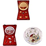 Gold Plated GL Pooja Thali Set,Silver Plated Royal Pooja Thali Set And Silver Plated Swastika Thali With Tilak...