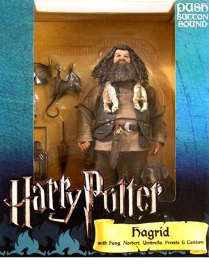 """Harry Potter - Hagrid 10"""" Deluxe Action Figure With Sound"""