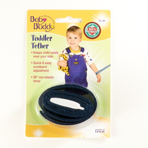 Lowest Prices! Baby Buddy Toddler Tether, Navy