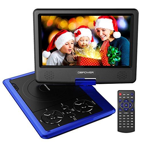 dbpower-reproductor-de-dvd-portatil-de-95-con-pantalla-giratoria-5-horas-recargable-incorporada-de-l