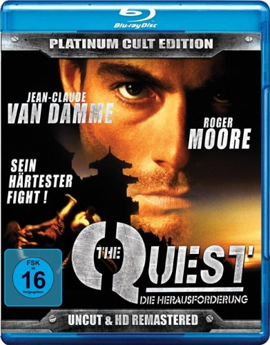 The Quest - Die Herausforderung (Uncut & HD-Remastered - Platinum Cult Edition) [Blu-ray]