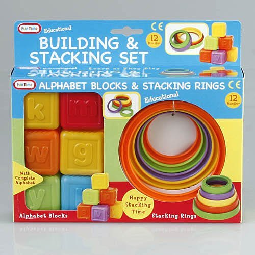 Fun Time Building & Stacking Set
