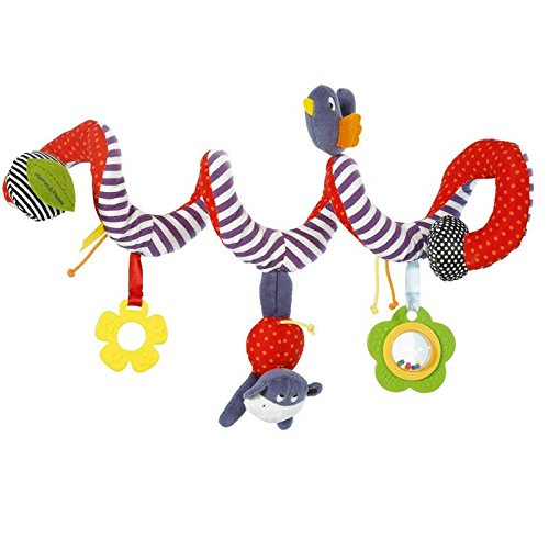 Activity Spiral Stroller And Car Seat Toy - Play With Me Baby Rattle Toy Kids Products Gifts