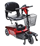 Driver Medical S38600 Bobcat 3 Wheel Compact Scooter, Red