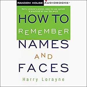 How to Remember Names and Faces Audiobook
