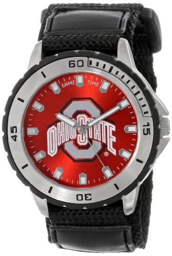 Game Time Men's COL-VET-OSU Veteran Custom Ohio State Veteran Series Watch at Amazon.com