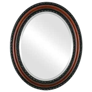 Amazon.com - Dorset Oval in Rosewood - Wall Mounted Mirrors