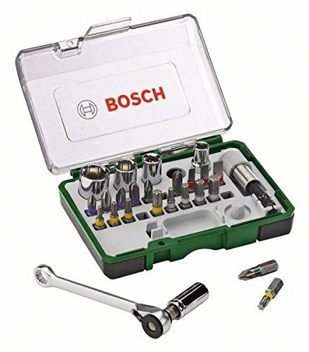bosch-2607017160-set-con-27-unidades-para-atornillar-incluye-puntas-vasos-y-llave-de-carraca