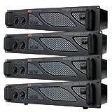 EMB Pro - PA4400 - Rack Mount Professional Power Amplifier - 2200 Watts PA Band Club