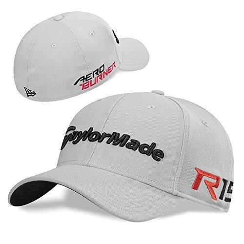 TaylorMade TM15 39Thirty Headwear, Medium/Large, Gray