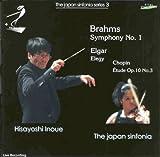 ショパン:練習曲ホ長調Op.10-3「別れの曲」 (ムラヴィンスキー編曲) / ブラームス:交響曲第1番ハ短調Op.68 他 [日本語解説:許光俊氏] ( Brahms : Sym No.1, etc / Inoue, JS )