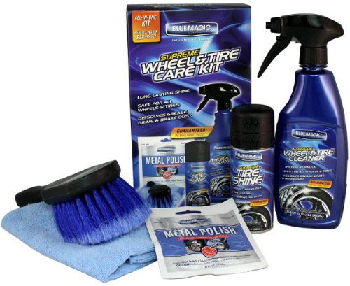 Blue Magic 785K Supreme Wheel and Tire Care Kit
