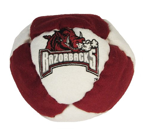 Hacky Sack - College Logo 8 Panelled Arkansas Design - 1