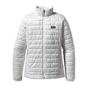 Buy Patagonia Women Nano Puff Hoody Birch White M by Patagonia