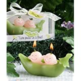 Two Peas In A Pod Collection Candle Favors, 60