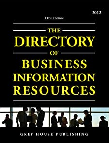 Directory of Business Information Resources 2012 Richard Gottlieb