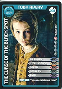 Doctor Who Monster Invasion Extreme Common Card #208 Toby Avery