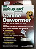 8in1 Safe Guard Canine Dewormer for Large Dogs, 4-Gram(2Pack)