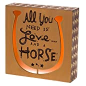 Love and Horse Light Box Decor
