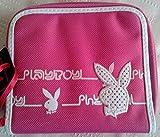 Playboy Pink Rabbit Head Design Ladies Girls Zipped Coin Purse