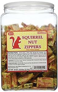 Squirrel Nut Zippers 240ct Tub