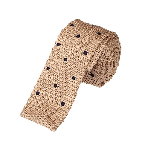 DAO3D01-Various-Colors-Polka-Dots-Knit-Skinny-Tie-for-Husband-By-Dan-Smith