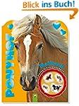 Glitzersticker-Malbuch Ponyhof: Malbu...