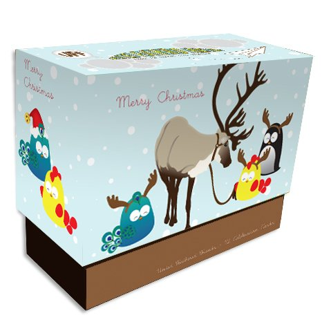 UFF Christmas Elements Boxed Cards