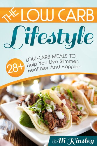 Ebook low carb lifestyle 28 low carb meals to help you for Quick and easy low carb dinner recipes
