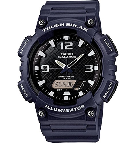"Casio Men'S Aq-S810W-2A2Vcf ""Tough Solar"" Analog-Digital Display Watch"